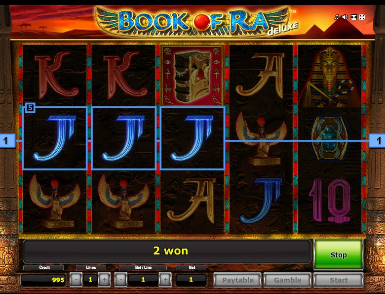 "Book Of Raâ""¢ Deluxe Slot"