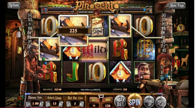 Pinocchio Slot Machine Review & Free to Play Online Game