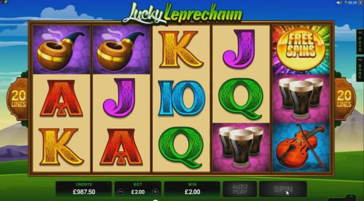 free lucky leprechaun slot machine