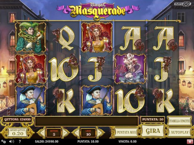 Royal Masquerade Slot - Play Online for Free