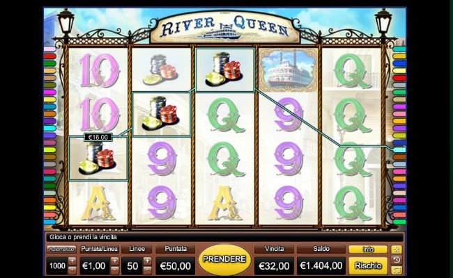 online casino game river queen