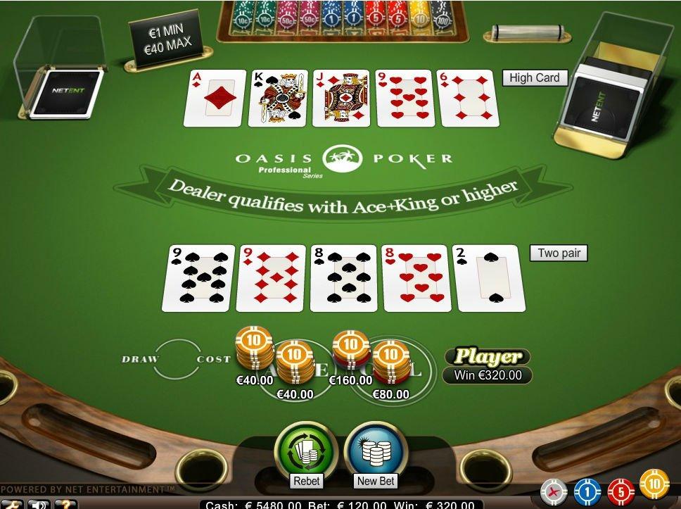 оазис покер онлайн казино