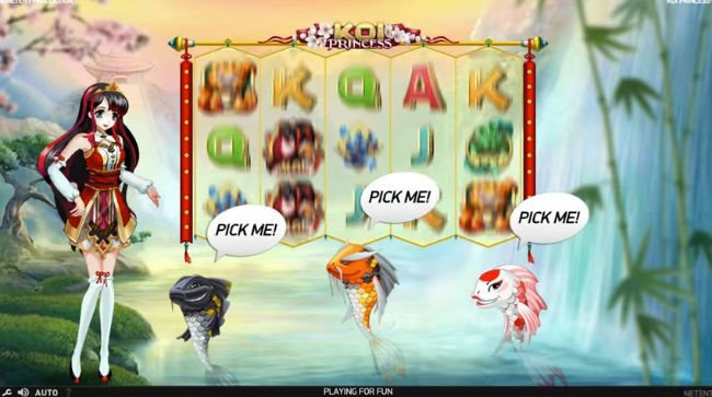 Koi Princess™ Slot Machine Game to Play Free in NetEnts Online Casinos