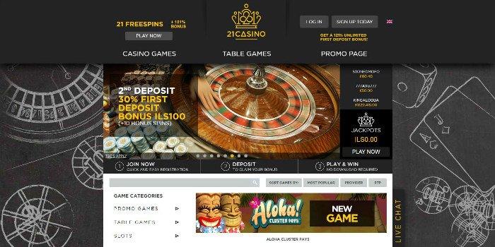 Casino 21 online gambling jack slot