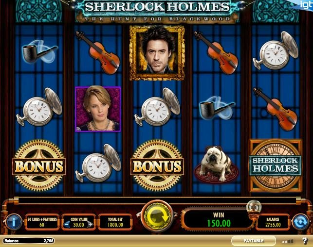 Sherlock Holmes™ Slot Machine Game to Play Free in IGTs Online Casinos