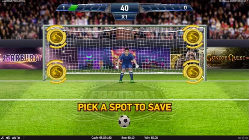 Soccer Championship Slot Machine - Play for Free Now