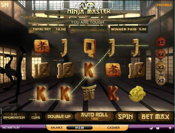 Ninja Master Slot Machine