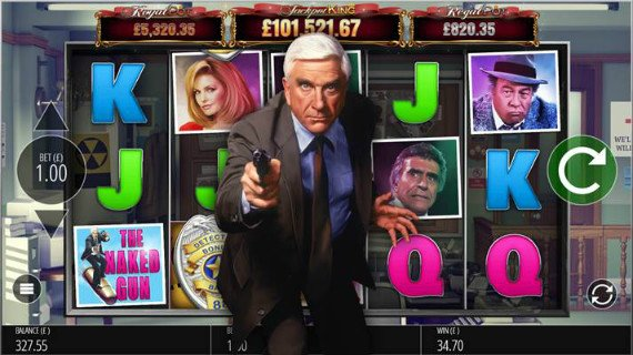 Blueprint Gaming Naked Gun Slot