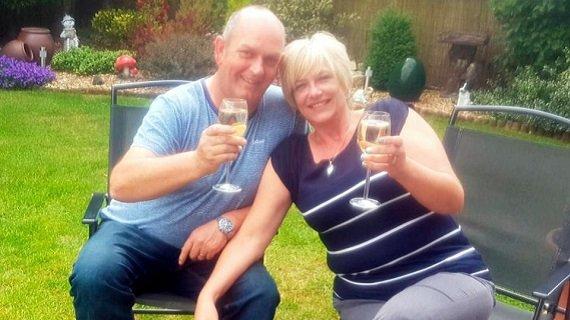 Angela New and Her Husband - BGO Jackpot Winner