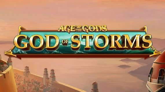 Playtech Slot - Age of the Gods God of Storms
