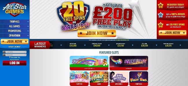 All Star Casino Online