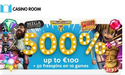 Big Bonus And Free Spins For New Players At Casino Room